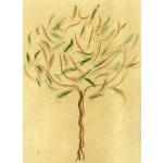 """albero 006"", 2014, tecnica mista, cm. 42 x 42"