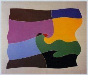 "Fig. 2: ""racconto"", 1988, olio su tela, cm. 60 x 70"