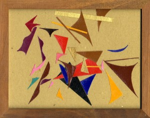 """""""collage casuale"""" 001, 2012, cm. 18 x 23"""