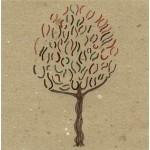 """""""inverno"""", 2013, pastello, acrilico, cm. 14.5 x 14.5"""