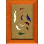 f.f. 000, 2012, pastello, acrilico, collage, 11 x 7.5