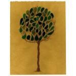 """albero/estate 002"", 2013, tecnica mista, cm. 30 x 23"