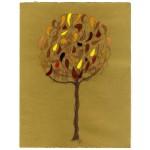 """""""albero/autunno 002"""", 2013, tecnica mista, cm. 30 x 23"""