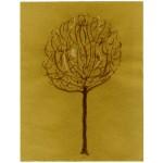 """""""albero/inverno 002"""", 2013, tecnica mista, cm. 30 x 23"""