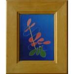 """angelo"", 2001, olio su tela, cm. 18 x 13"