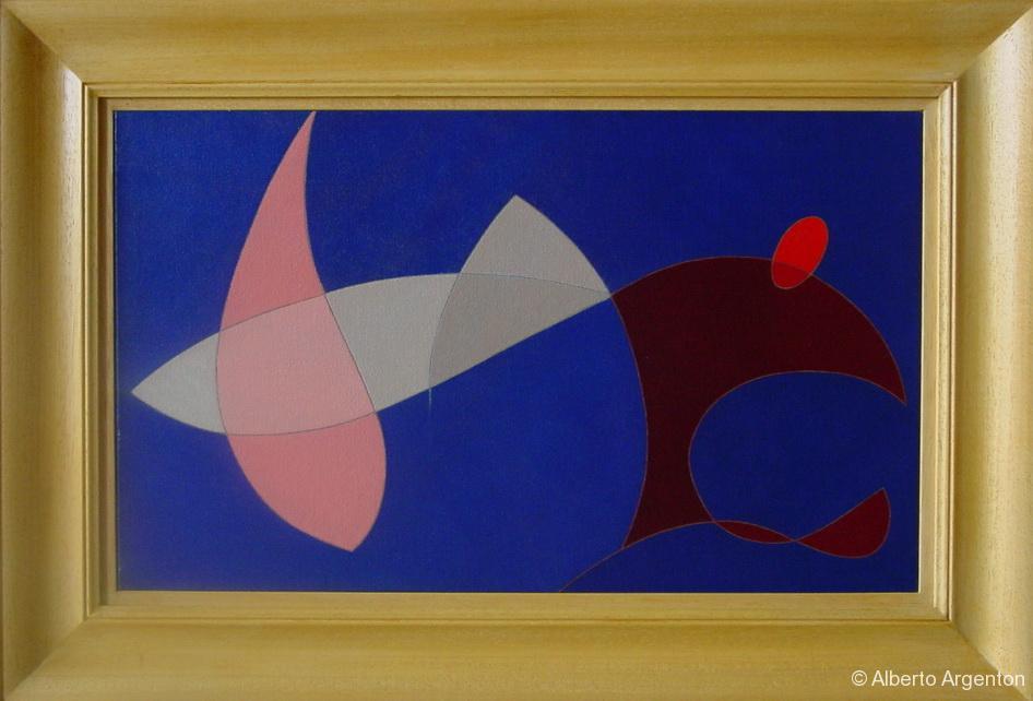 """""""diavolo"""", 2002, olio su tela, cm. 30 x 50"""
