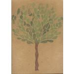 """albero 003"", 2013, pastello, cm. 42 x 42"
