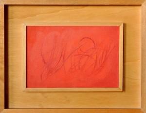 """boscaglia"", 1962, olio su tela, cm. 20 x 30"