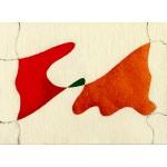 """""""canzone"""", 1985, acquarello, cm. 13 x 18 ca."""