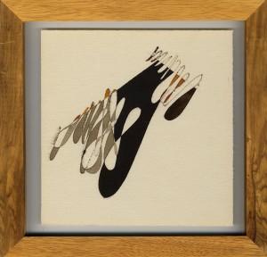 """""""dettaglio"""", 1986, acquarello, cm. 20 x 20"""