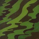 """""""natissa"""", 1987, olio su tela, cm. 15 x 15"""