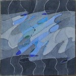 """""""studio per un racconto"""", 1987, acquarello, cm. 17 x 17"""