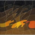 """""""winter love"""", 1987, olio su tela, cm. 15 x 15"""