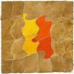 """""""studio per un racconto"""", 1988, acquarello, cm. 13.5 x 13.5"""