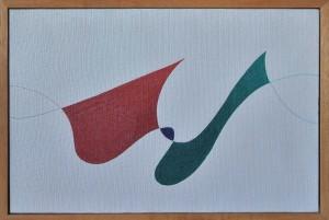 """canzone amorosa"", 1988, olio su tela, cm. 20 x 30"