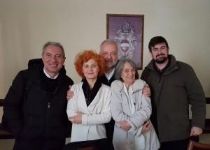 Claudio Tonzar, Tamara Prest, Tiziano Agostini, Laura Messina Argenton, Carlo Maria Fossaluzza