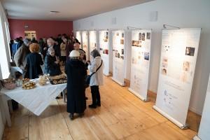 Aperitivo durante l'inaugurazione della Mostra